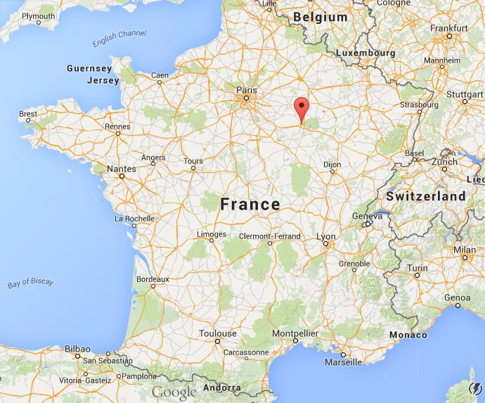 Where is Troyes on map France World Easy Guides