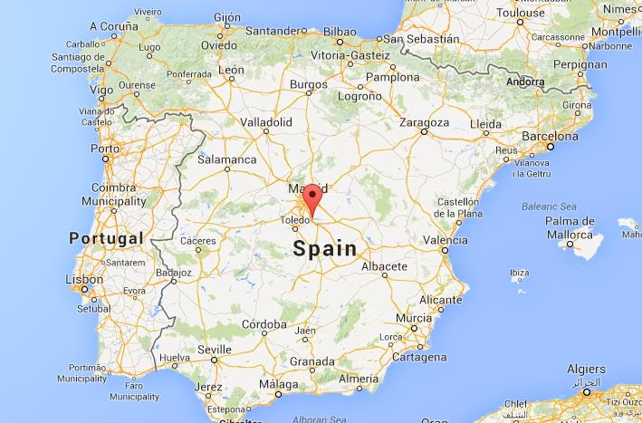 Aranjuez On Map Of Spain World Easy Guides