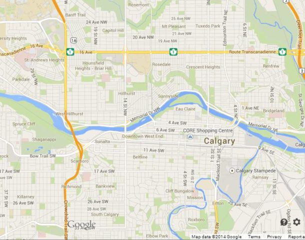 Calgary Largest City Of Alberta World Easy Guides