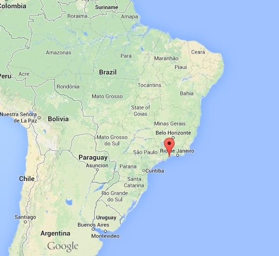 Paraty on map of brazil world easy guides where is paraty on map of brazil gumiabroncs Gallery