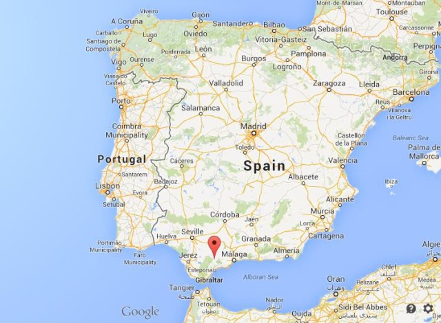 Ronda-on-map-of-Spain-640x470 Mapa Google Maps West Usa on google maps, mapa dos usa, el mapa de usa,