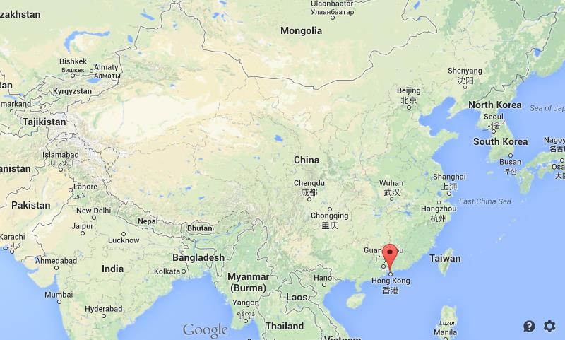 Shenzhen on map of china world easy guides where is shenzhen on map of china gumiabroncs Image collections