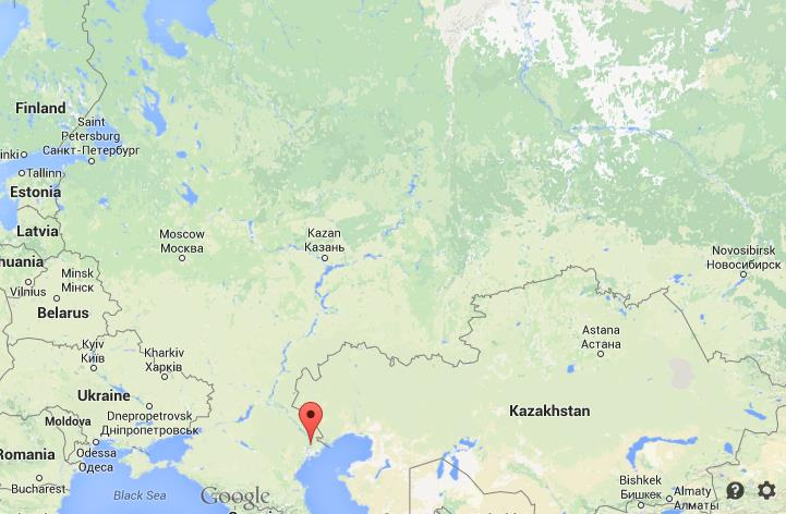 Where is Astrakhan map Russia World Easy Guides