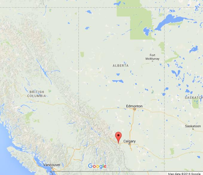 Canmore Canada Map Where is Canmore on map of Alberta