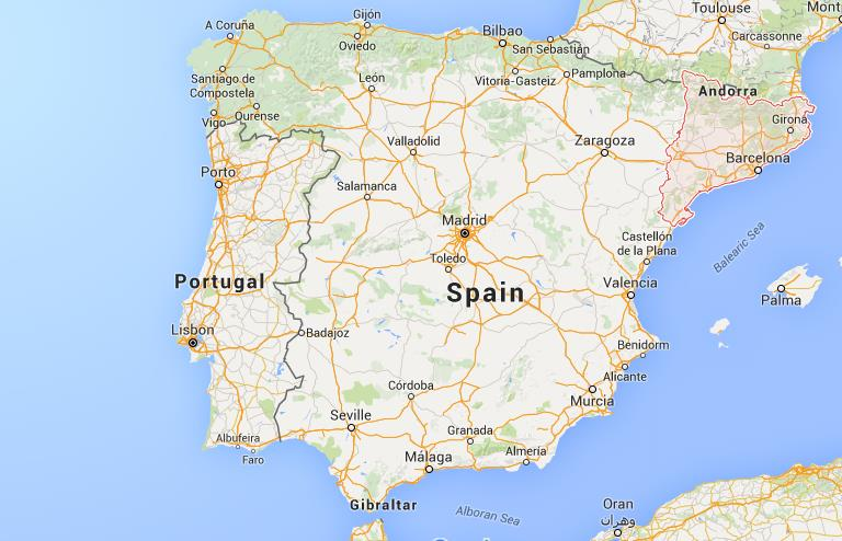 Map Of Spain Catalonia.Where Is Catalonia On Map Spain