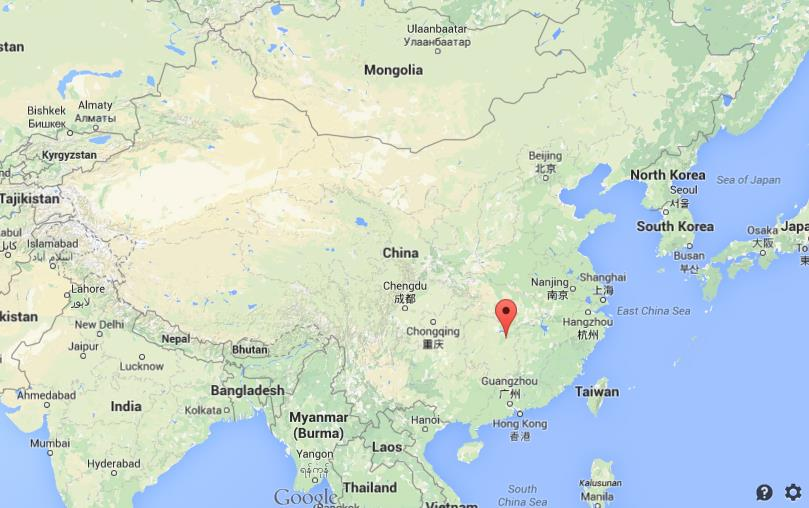 map of changsha china Where Is Changsha On Map Of China map of changsha china