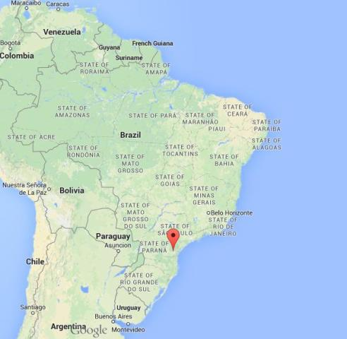 Curitiba world easy guides where is curitiba on map of brazil gumiabroncs Image collections