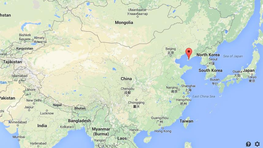 Where is Dalian on map of China World Easy Guides