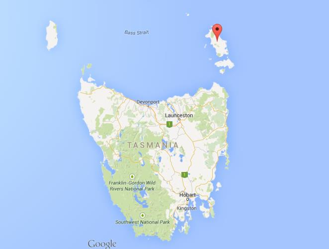 Where is flinders island on map tasmania publicscrutiny Image collections