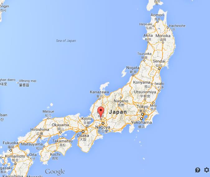 Where Is Gifu On Map Of Japan World Easy Guides - Japan map gifu