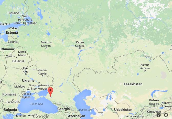 Where Is Krasnodar Map Russia