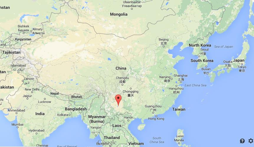 Where Is Kunming On Map China