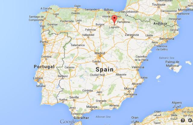 Logrono Spain  city pictures gallery : Where is Logroño in map of Spain