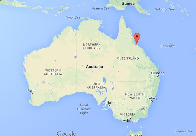 Where is magnetic island on map australia world easy guides location magnetic island on map australia gumiabroncs Choice Image