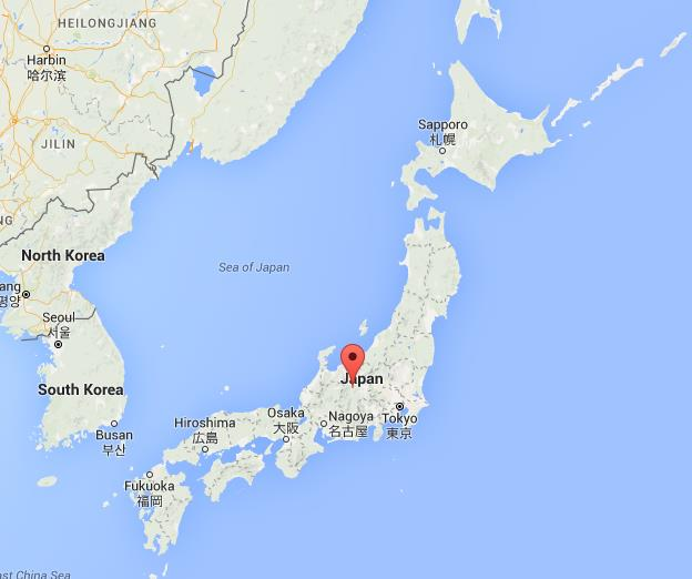Where is Matsumoto on map Japan