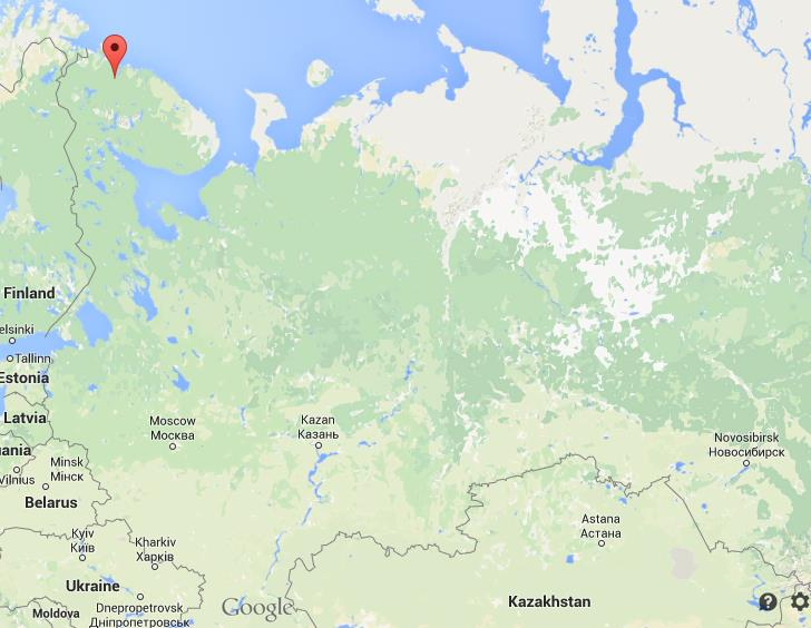 Where is Murmansk on map Russia World Easy Guides