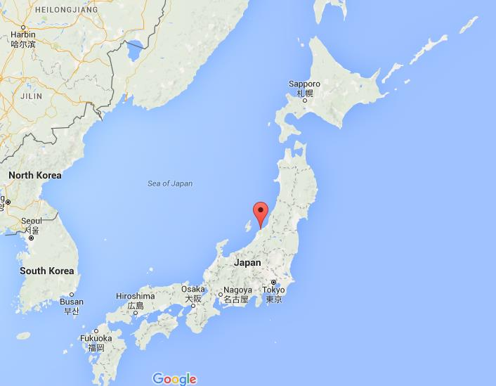 Where Is Niigata On Map Japan