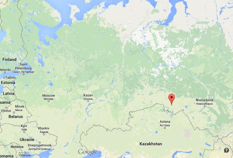 Where is Omsk on map Russia World Easy Guides