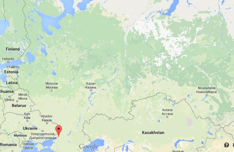 Where is Rostov on Don on map of Russia