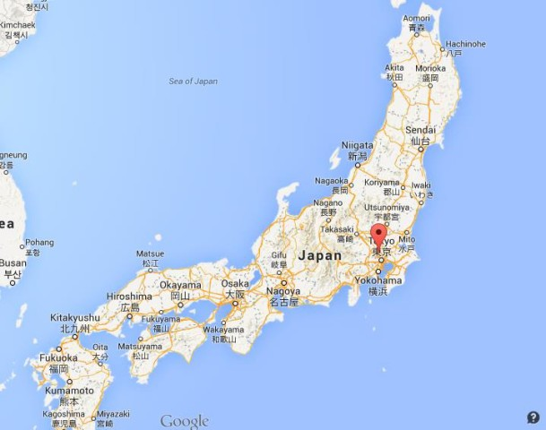 Where Is Saitama On Map Japan