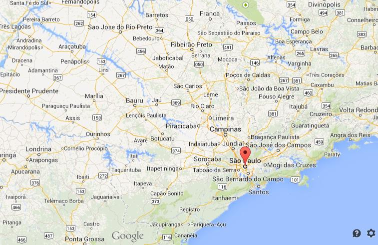 Where is Sao Paulo on Sao Paulo State map World Easy Guides