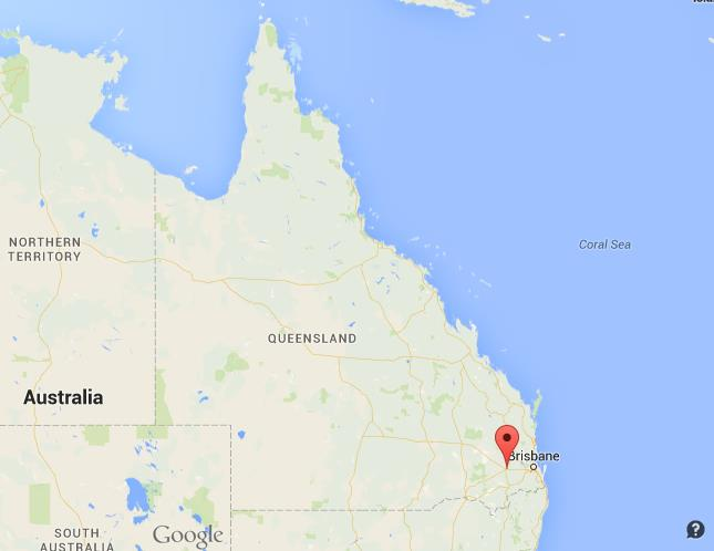 Where is Toowoomba on map Queensland World Easy Guides
