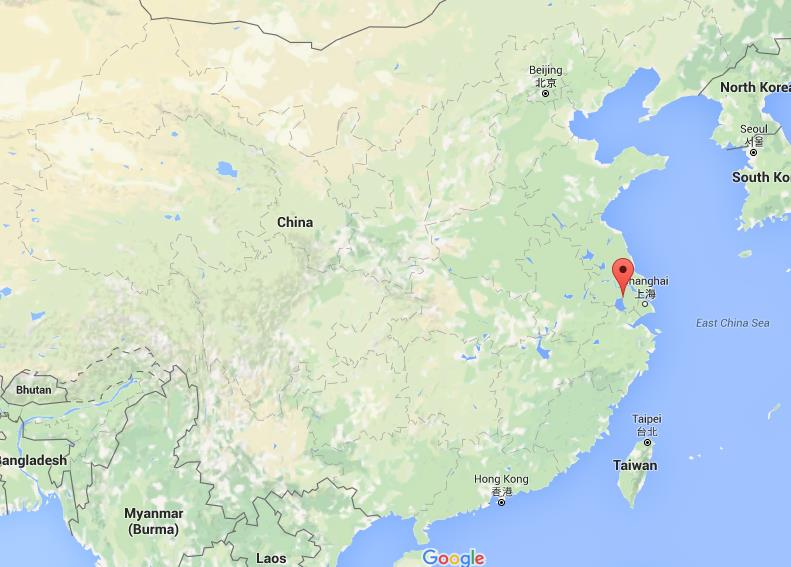 Where Is Wuxi On Map China