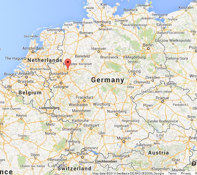 Dortmund On Map Of Germany World Easy Guides