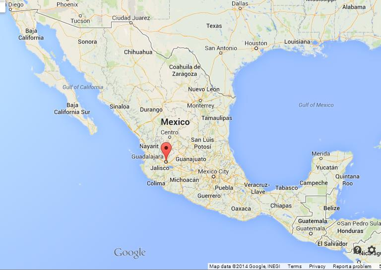 Guadalajara On Map Of Mexico World Easy Guides