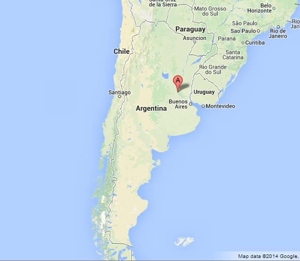 Rosario On Map Of Argentina World Easy Guides - Map of argentina