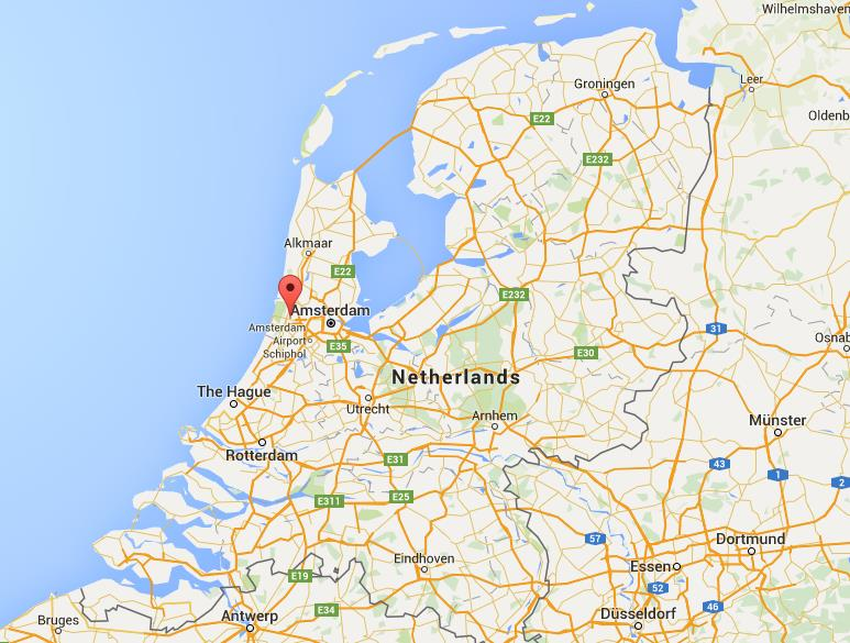 Where is Haarlem on map Netherlands