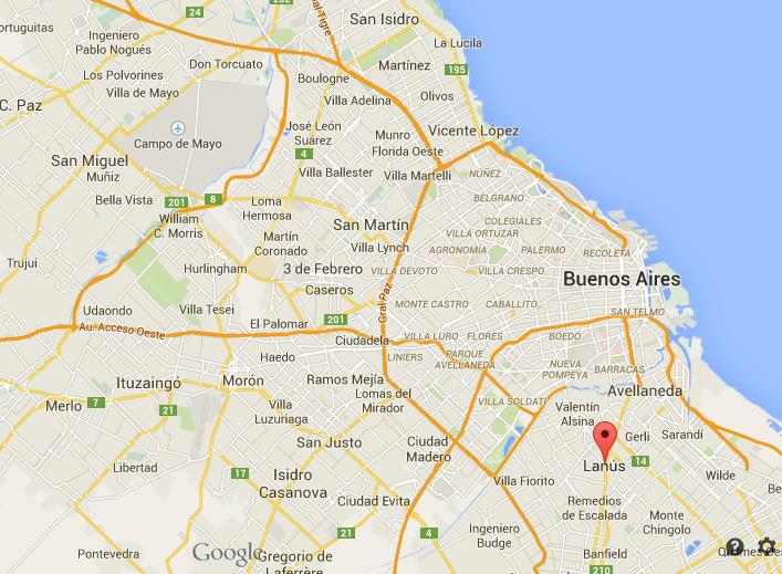 Where Is Lanus On Map Of Buenos Aires World Easy Guides - Where is buenos aires