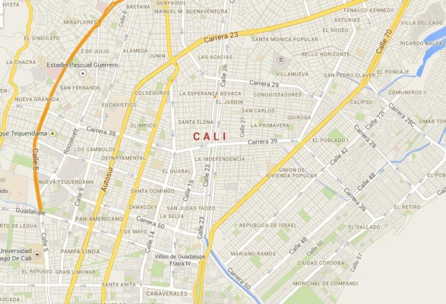 Cali Beautiful City In Colombia World Easy Guides - Map of cali
