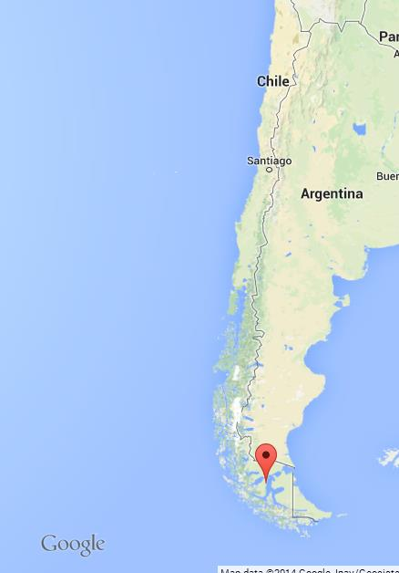 Punta Arenas On Map Of Chile World Easy Guides - Chile location