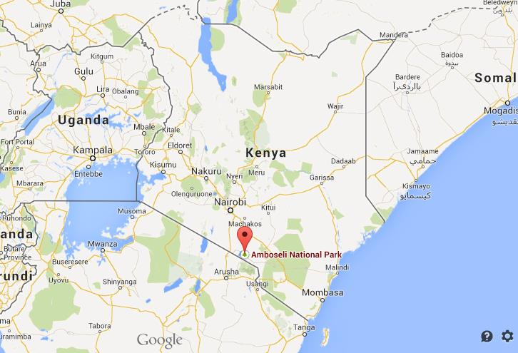 Where is amboseli national park on map of kenya world easy guides location amboseli map kenya gumiabroncs Images