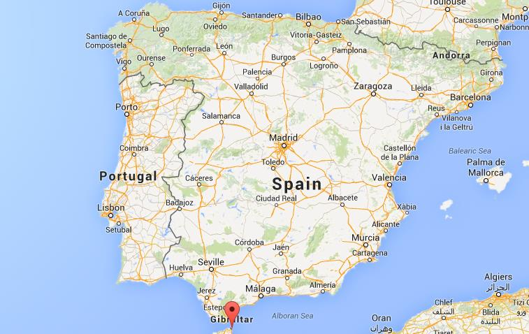 where is ceuta on map spain world easy guides