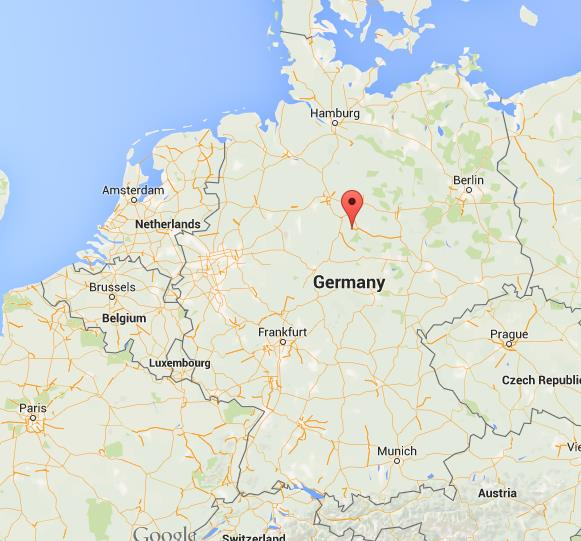 where is goslar on map germany
