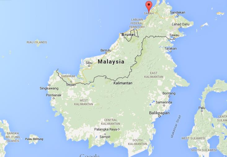 Where is Kota Kinabalu on map of Borneo World Easy Guides
