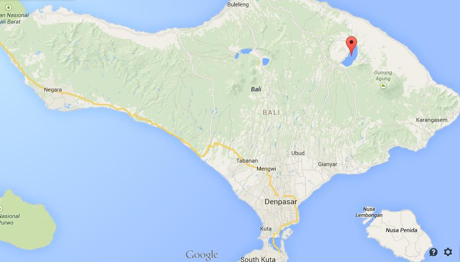 Where is lake batur on map of bali world easy guides location lake batur on map of bali gumiabroncs Choice Image