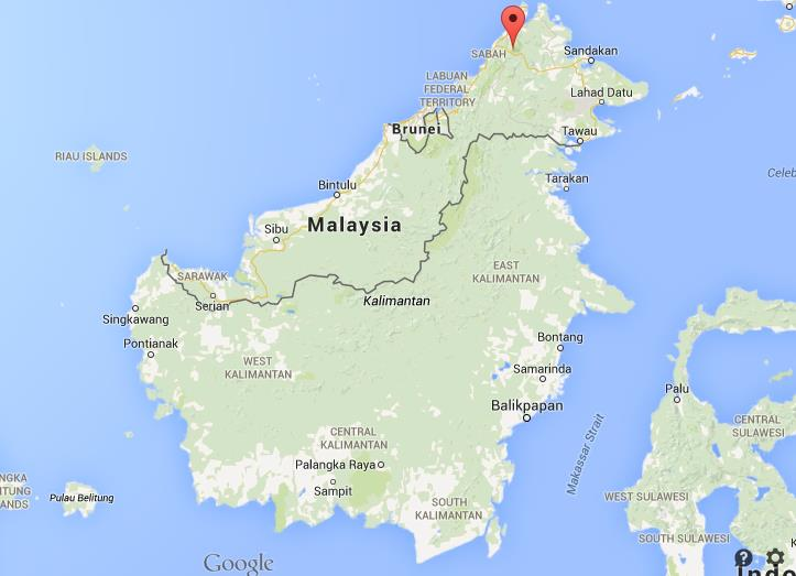 Where is Mount Kinabalu map Malaysia World Easy Guides