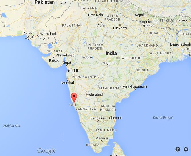 Where is old goa on map india gumiabroncs Image collections