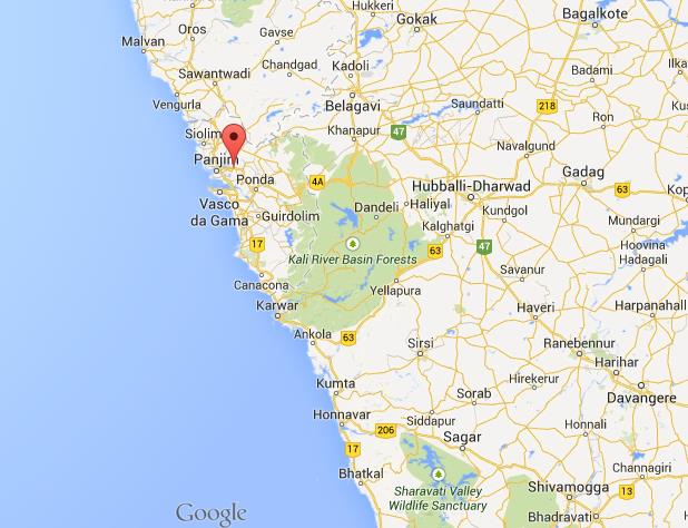 Where is old goa on map of goa world easy guides location old goa on map of goa gumiabroncs Images