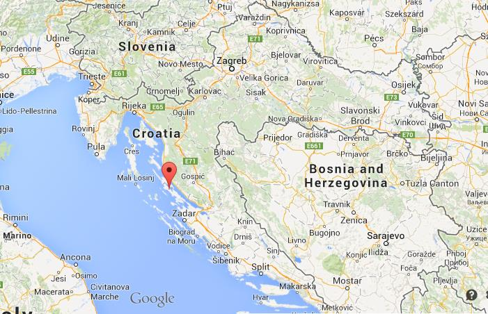 Where is pag on map of croatia gumiabroncs Images