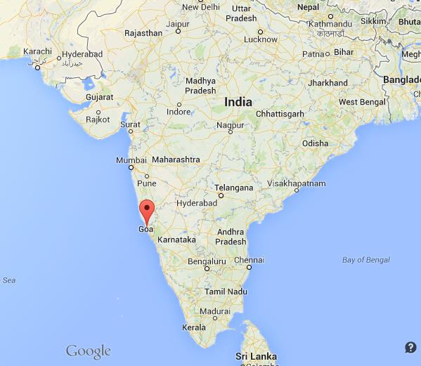 Where Is Panjim On Map Of India World Easy Guides