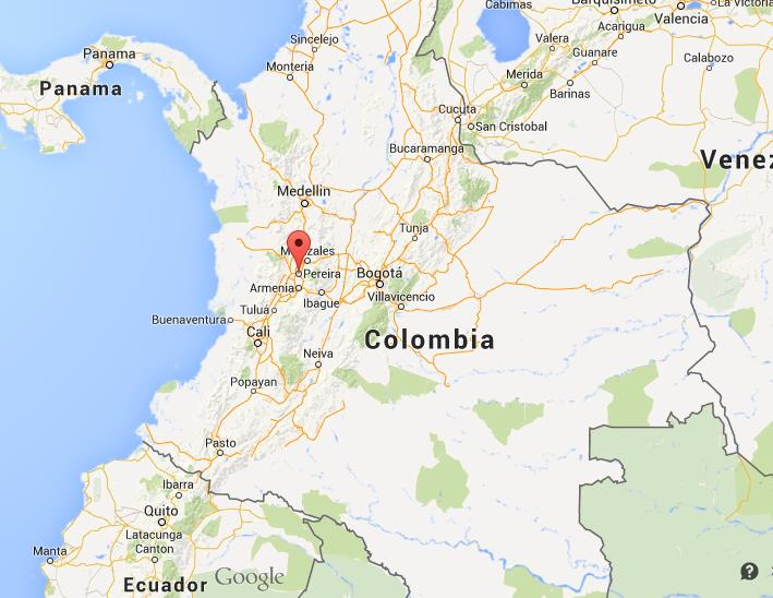 Where Is Pereira On Map Of Colombia World Easy Guides - Where is colombia