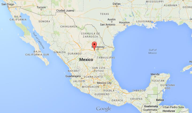Where is Saltillo on map Mexico World Easy Guides