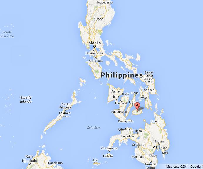Bohol Island On Map Of Philippines World Easy Guides - Where is philippines