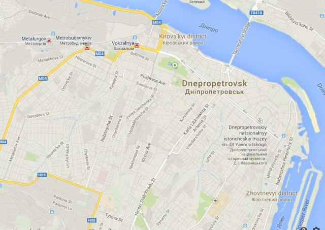 Dnipropetrovsk in Ukraine World Easy Guides