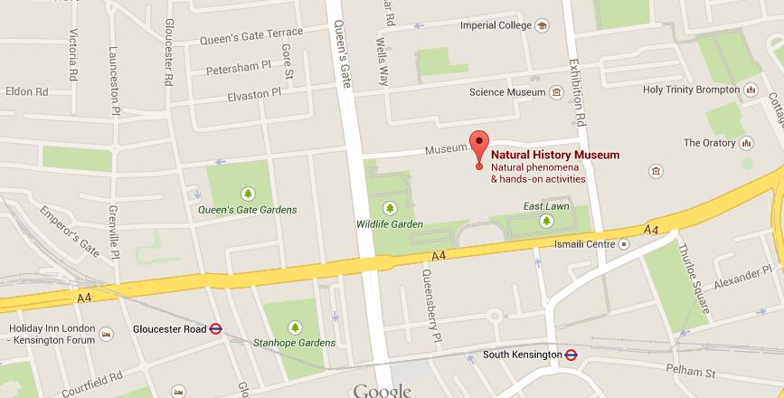 museum of london map pdf