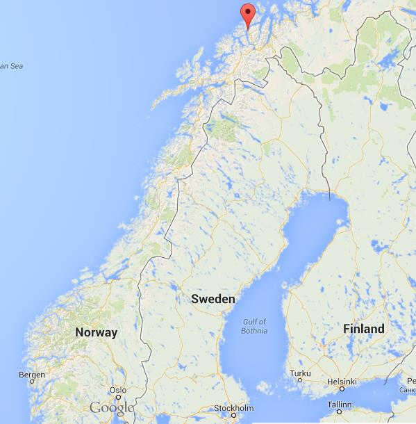 Tromso On Map Of Norway World Easy Guides - Norway map tromso